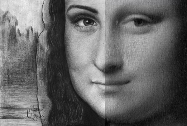 Mona Lisa by maaroufi